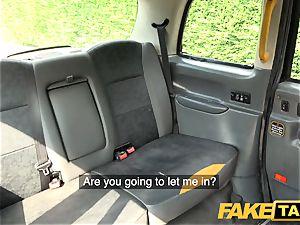 fake cab puny Rhiannon Ryder enjoys deep-throat