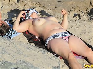 torrid topless mummies thick bosoms - amateur voyeur Beach movie