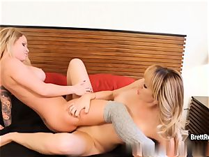 Brett Rossi gets dirty with her gf Daisy Monroe