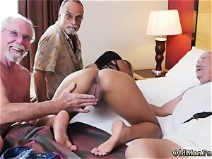 ginormous elderly mature and parent penetrates associate duddy s daughter-in-law buttfuck hd Staycation with a