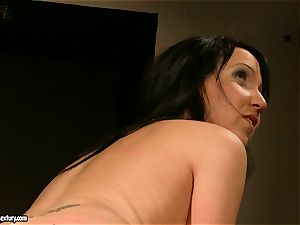 Kathia Nobili let a super hot chick open up legs how humid muff