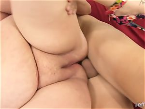 molten plumper bj's penis and Is boinked Up the backside
