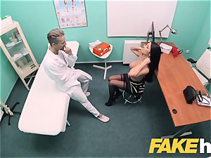 fake clinic massive fun bags polish honey Ania Kinski